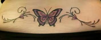lower back butterfly