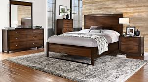 Hardwood Bedroom Furniture Sets by Dark Wood Queen Bedroom Sets Cherry Espresso Mahogany Brown Etc