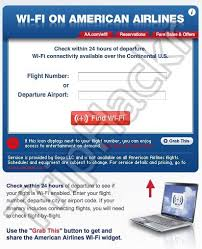 wifi on american airlines flights wi fi finder for american airlines