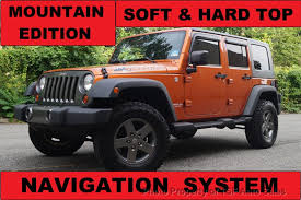 2010 used jeep wrangler 2010 used jeep wrangler unlimited 4wd 4dr mountain top