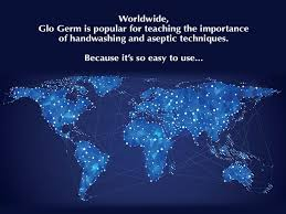 black light and germs glo germ visual tool for handwashing training aseptic techniques
