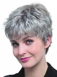 salt and pepper pixie cut human hair wigs grey wigs short grey wigs for women c4