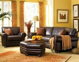 brown leather living room sets living room decorating ideas with brown leather furniture dark