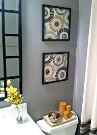 bathroom wall art ideas decor cork board wall decor best framing fabric ideas on fabric within