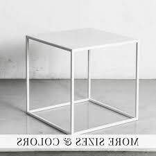 Cube Side Table View Photos Of White Cube Coffee Tables Showing 7 Of 20 Photos