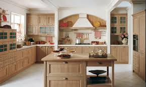 country kitchen design 2016 using wooden bar table also