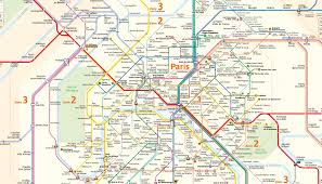Mexico City Metro Map by This Is What The Paris Metro Map Looks Like If You U0027re In A