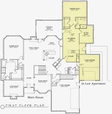 one floor house plans apartments one story house plans with mother in law suite