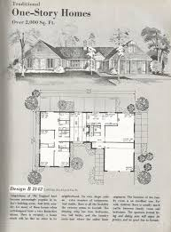vintage house plans traditional homes over 2000 square feet