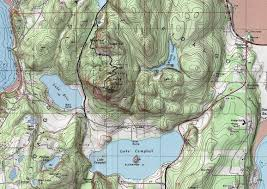 Mt Washington Map by Mount Erie Park Anacortes Washington