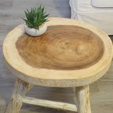 white scandi wooden coffee table by za za homes