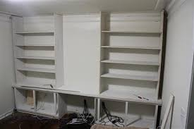 Bookcase 12 Inches Wide Building A Built In Bookshelf Wall