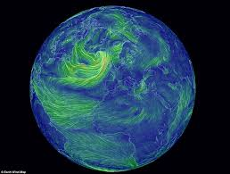 earth wind map the mesmerising interactive map of the wind website beautifully