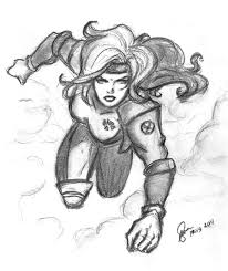 sl rogue sketch card 002 by artofrivana on deviantart