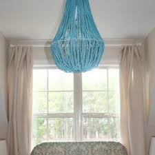 Beaded Chandelier Diy How To Make A Beaded Chandelier Diy Light Tip Junkie