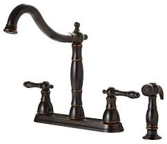 premier kitchen faucet premier rubbed bronze antique style 4 kitchen faucet w