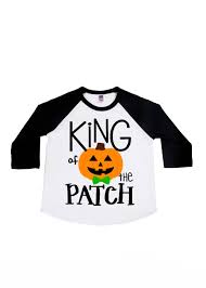 king of the patch halloween shirts boys u0027 shirts