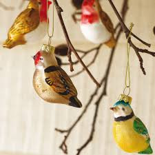 beautiful ideas bird tree ornaments glass decorations