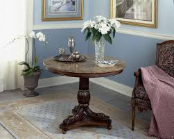 decor cool the placing of dark wood foyer table create modern