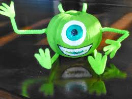 theresa u0027s mixed nuts mike wazowski mini pumpkin