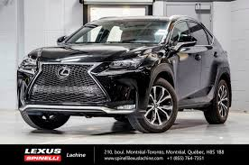 lexus of toronto used 2017 lexus nx 200t f sport iii awd gps toit lss for sale in