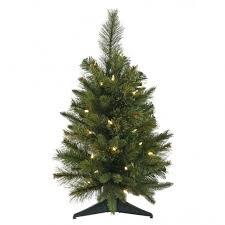 2 foot pe pvc tree clear lights a118225