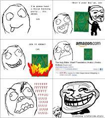 Troll Meme Comics - atheism troll le rage comics