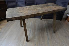 19th century solid wood french butcher s block rustic dining 19th century solid wood french butcher s block rustic dining table