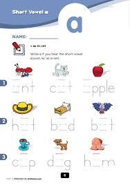 flipsnack vowel worksheets by h petrus