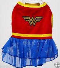 Extra Small Dog Halloween Costumes Dc Comics Woman Dog Pet Costume Dress Xs Extra Small