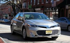 2013 toyota avalon 0 60 toyota avalon hybrid review