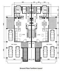 single storey semi detached house floor plan landscape design for semi d house the best wallpaper