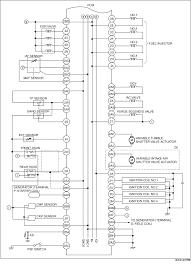 automatic transaxle control system wiring diagram fn4a el
