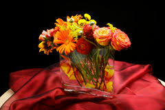 Wedding Flowers Table Wedding Head Table Centerpiece Royalty Free Stock Photography