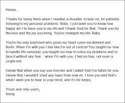samples of love letters to boyfriend 5 love letter for boyfriend