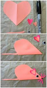 list of easy valentine u0027s day crafts for kids