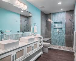 blue tiles bathroom ideas 30 best transitional blue tile bathroom ideas remodeling photos