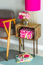 Pink Nightstand Side Table Designing Your Own Side Table U2013 10 Inspiring Suggestions