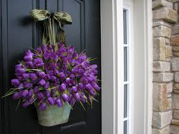 Spring Decorations For The Home by Front Doors Good Coloring Spring Front Door Decoration 31 Spring