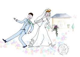 dessin mariage dessin mariage photo de dessin peinture agnès la fée bricole