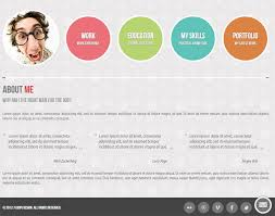 Simple Online Resume by 30 Best Resume U0026 Cv Html Templates 2016 Designmaz