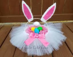 bunny easter basket bunny easter basket tutu