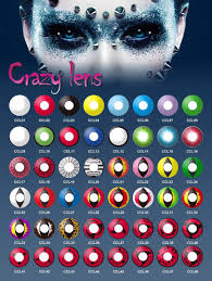 halloween crazy white cat eye contact lenses yellow cat red out