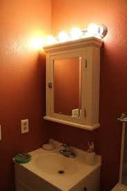 Recessed Wall Cabinet Bathroom by Bathroom Cabinets Bathroom Light Fixtures Over Medicine Cabinet
