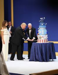 file donald trump mike pence cut cake at armed services ball 01