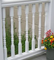 plastic deck balusters deck design and ideas