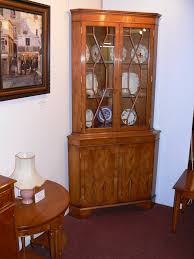 mahogany corner bookcase cabinets the table place