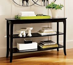 Decorating Entryway Tables Sofa Elegant Black Sofa Table Decor Entryway Tables Foyer Black