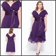 online get cheap plus size short purple prom dress aliexpress com