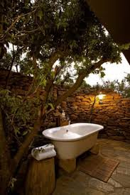 outdoor bathrooms for sale pedestal sink above round mirror on the